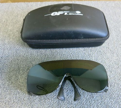Laser Safety Glasses W166 3w1sDIN CE0196 AS/NZS 1337 Lic. Nr. 794 XI
